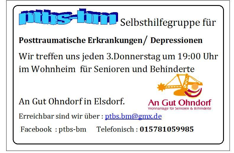 ptbs-bm – Selbsthilfegruppe für Posttraumatische Erkrankungen Elsdorf