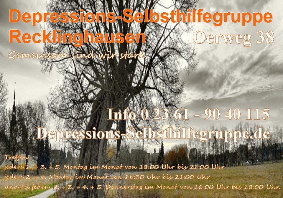 Depressions-Selbsthilfegruppe Kreis Recklinghausen