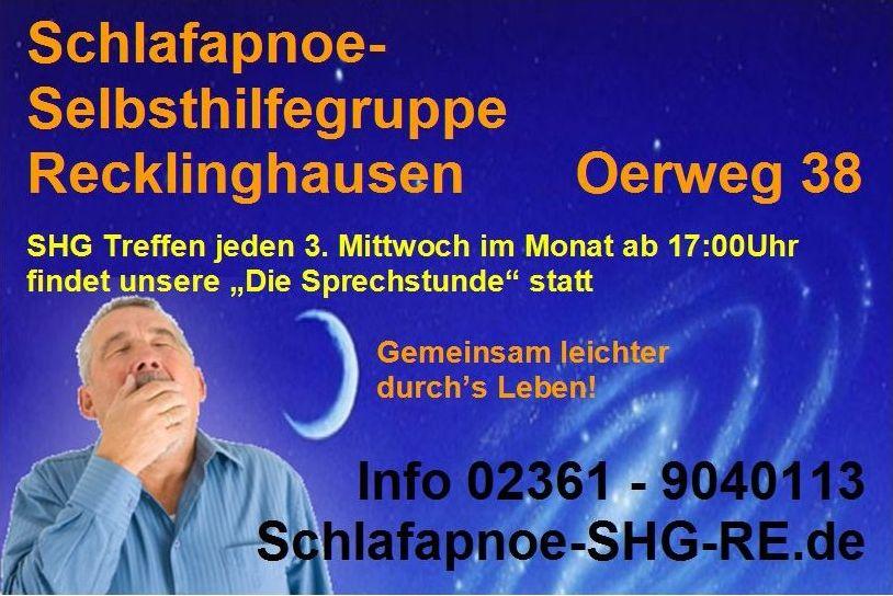 Schlafapnoe-Selbsthilfegruppe Kreis Recklinghausen