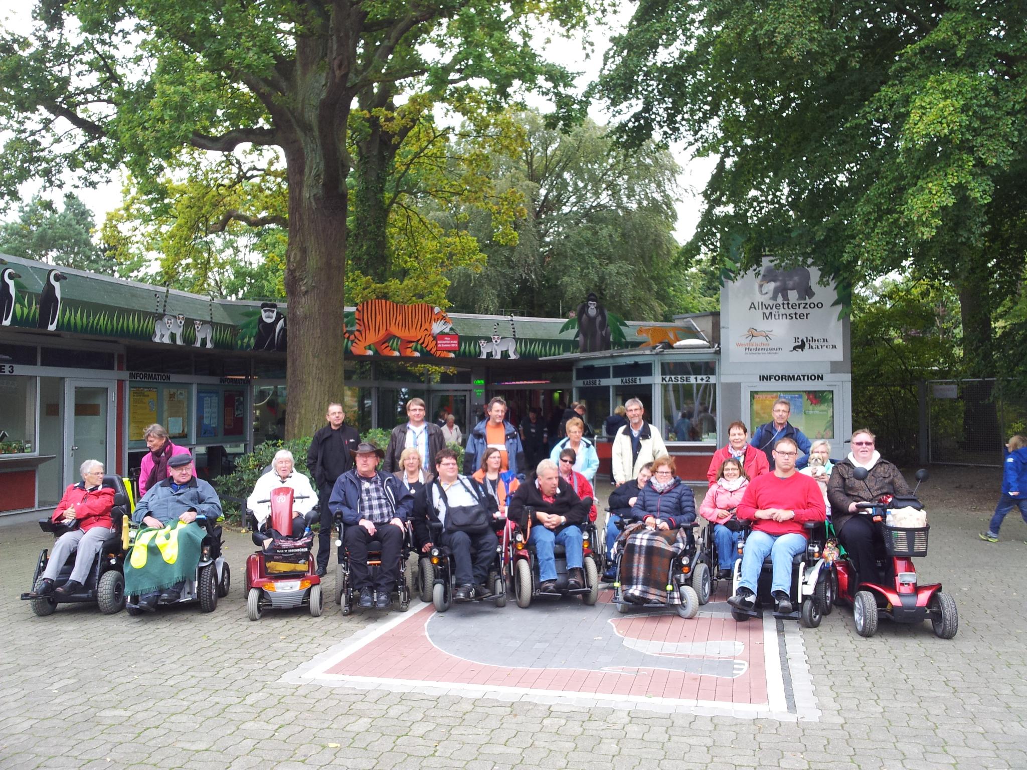 Elektro Rollstuhl Gruppe Ibbenbüren Laggenbeck